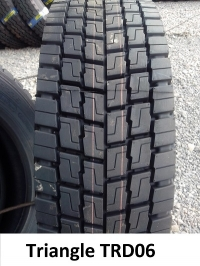 Шина 315/80R22.5 Triangle TRD06